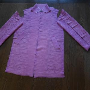着物リメークコート 準備完了
