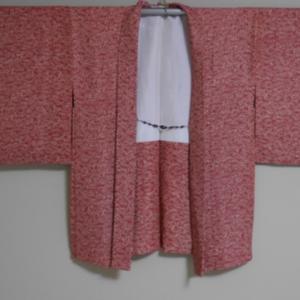 着物リメイク 羽織をワンピースに