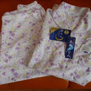 高島ちぢみのパジャマ