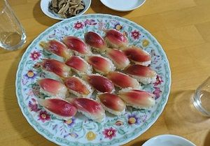 みょうが寿司と作り置き