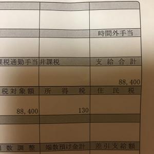 アラフォー主婦の7月のパート収入