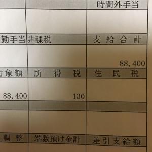時給850円アラフォーパート主婦の9月の給料