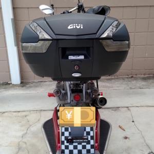 GIVI V47トップケース装着