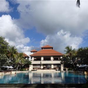 コンラッドバリに宿泊。ラグーンアクセスの部屋と広く大きなプールを独り占め!@2019GWバリ島⑧