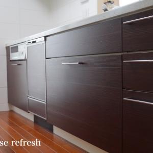 ビルドイン食洗機をDIYで付け替えてみました♪