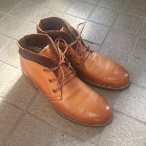 旅行用の靴を買ったよ