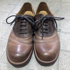 リサイクルショップで靴を買いました