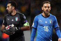 【イタリア代表】ブッフォンとデ・ロッシが伊代表に電撃復帰? EURO2020出場を監督が示唆