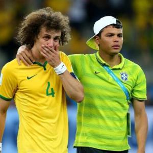 【ブラジル代表】ダヴィド・ルイスの「惨敗号泣」をネタにした企業、60万円の賠償命令