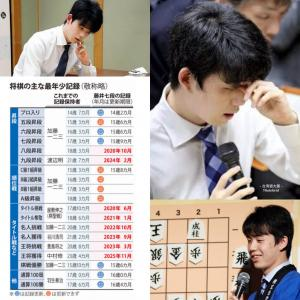 藤井聡太の最年少記録までのカレンダー、残る可能性は最年少タイトル獲得のみ