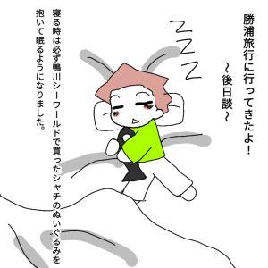 勝浦旅行~後日談~シャチ大好き!【次男1歳8か月】