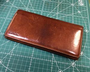 ポールスミス 財布修理