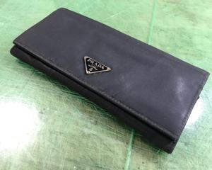 PRADA長財布 ファスナー、内袋張り替え