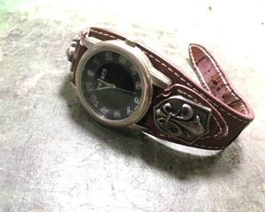 時計レザーベルト製作