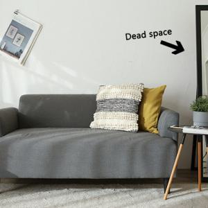 ★見せたくない掃除道具はデッドスペースに隠して収納!