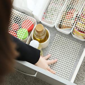 ★キッチン収納に滑り止めシートを使ってみた結果…
