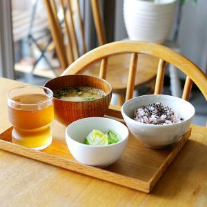 ★一人ごはんはラクしたい!無印の乾燥野菜で即席お味噌汁