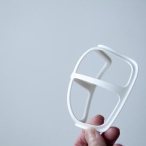 ★マスクと口の間に空間を作り呼吸しやすくなるセリア品