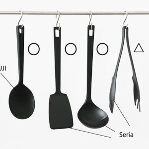 ★セリア継ぎ目のないキッチンツールが洗いやすくて清潔!