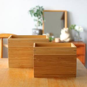 ★IKEAの竹製小物収納ケースで洗面所をスッキリ夏仕様に♪