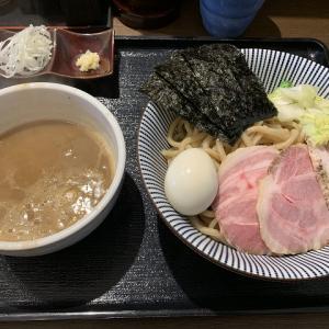 長男、もんたいちお@特製つけ麺大盛り 相変わらずスープが濃厚で美味しい。