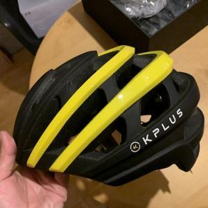 台湾の新鋭ブランドKPLUSのヘルメット「NET」日本未発売カラーをゲット。