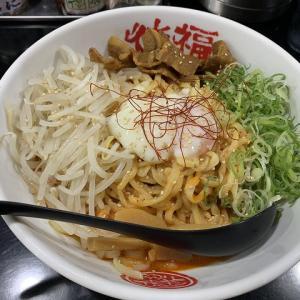 徳福 八幡店@温玉冷やし担々麺 徳島ラーメンの特徴を活かした一品。