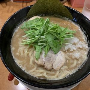 節 本八幡店@節そば 豚骨ラーメンの替え玉一杯サービスは終了した模様。