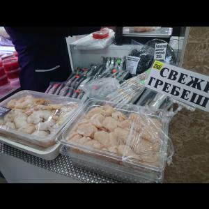 蟹市場@ユジノサハリンスク