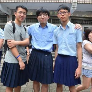 【画像あり】板橋高校でスカート男子許可されるwwww
