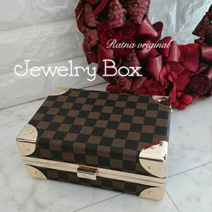 新作★JEWELRY BOX★グルーデコ作品の展示保管に★人数限定プレレッスン開始です