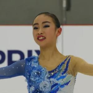 JGPSラトビア大会③女子結果