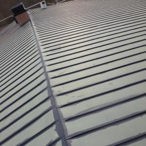 屋根下塗&外壁下処理