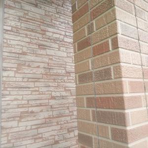 文苑K様邸 外壁クリヤー塗装 上塗完了