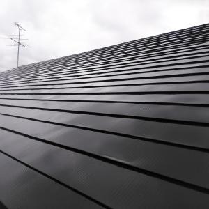 雁来M様邸 外壁上塗完了&屋根上塗開始