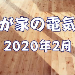 【我が家の電気代】2020年2月 新型コロナが猛威をふるう2月の電気代は?