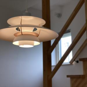 家は照明が肝。我が家は北欧デザイン照明・PH5とヤコブソンランプ。