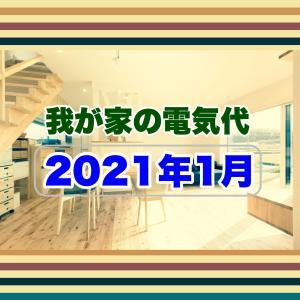【我が家の電気代】2021年1月。高性能住宅の電気代は?
