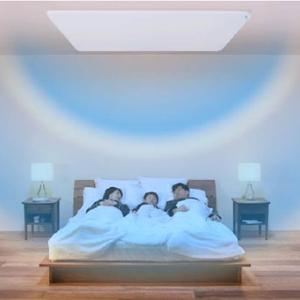 Dハウスが開発した寝室用パネルエアコン「眠リッチ」。え?まだ部屋にエアコンつけるの?