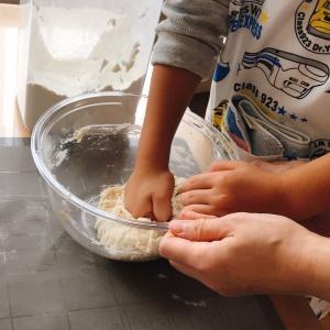 おうちパン講座☆コーンパン&抹茶甘納豆パン