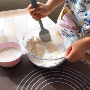 おうちパン講座☆枝豆コーンパン&りんごパン