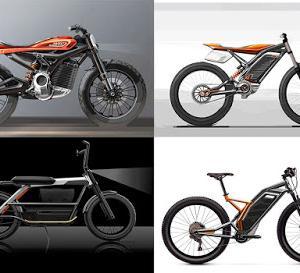 ハーレーに電動スクーターや子供向けの電動自転車が今後発売?