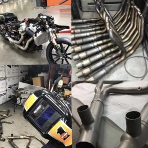 HKRヘッダーができるまで!メリットは?ハーレーのツーリングモデルにおすすめのマフラー「ヒロ小磯レーシングヘッダー」