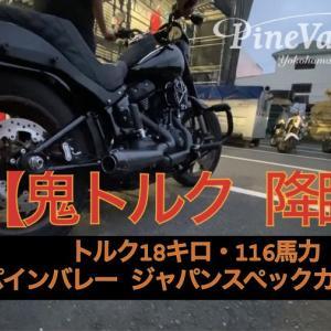 ハーレー FXLRS/ローライダーS【鬼トルク降臨】お勧めコンビでトルク18キロ・116馬力