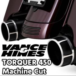 ハーレー/ツーリングモデル用大口径マフラー「トルカー450」に新ラインナップ!