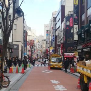 新宿 先ほど  15mar2020