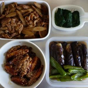 常備菜作りと、コレステロールを下げる食事