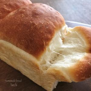 【酵母の働き、生地温度】湯種山食パン