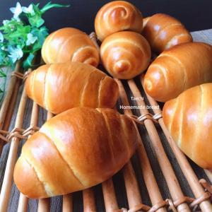 ミルク湯種ロールパン