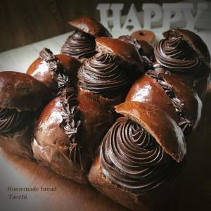 チョコ好きさんのパン♪丸ごとチョコレートちぎりパン
